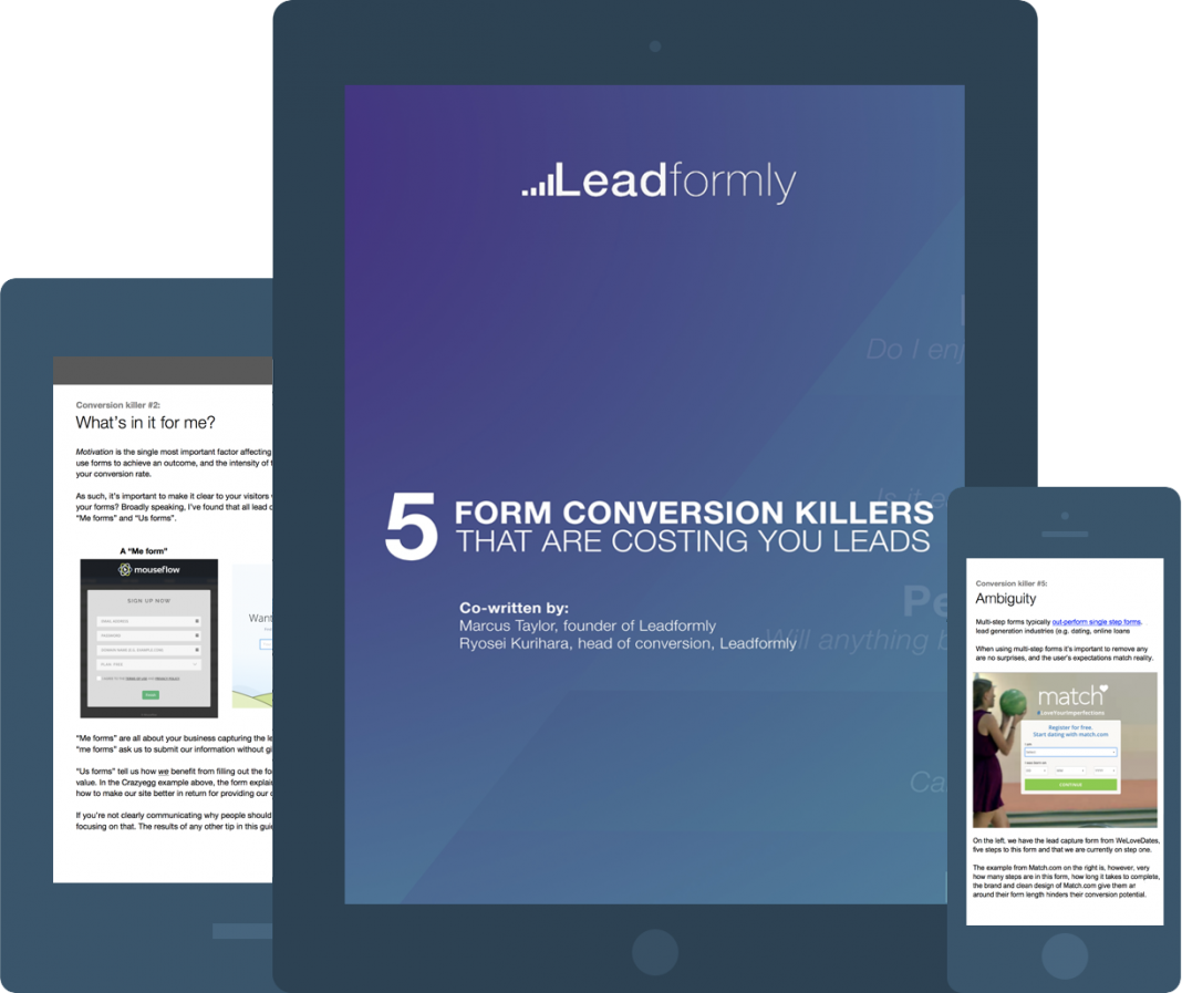 form conversion killers report