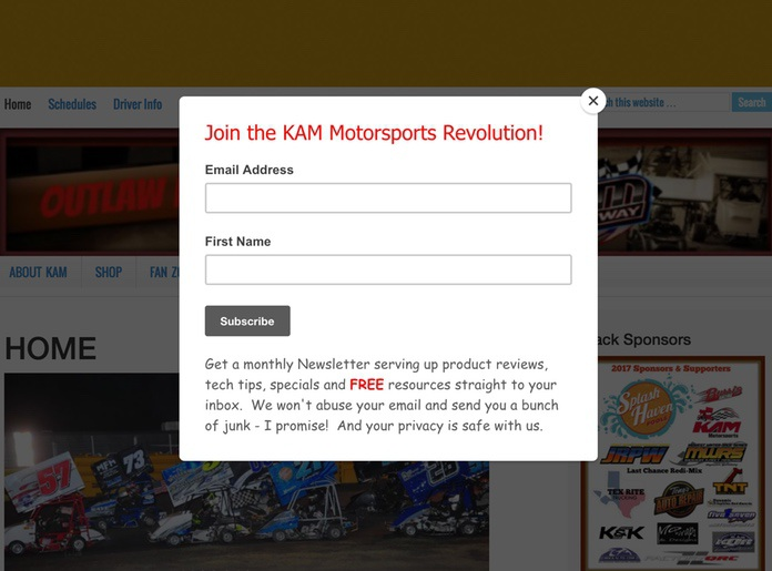 popup-bad-entry-kam-motorsports-revolution