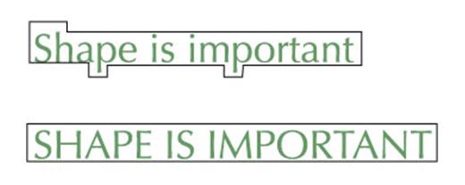 font-shape-is-important