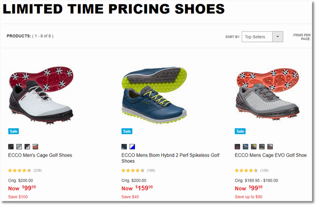 the_golf_warehouse_limited_time_pricing