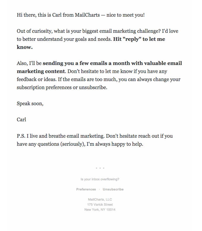 Plain-text-email-example