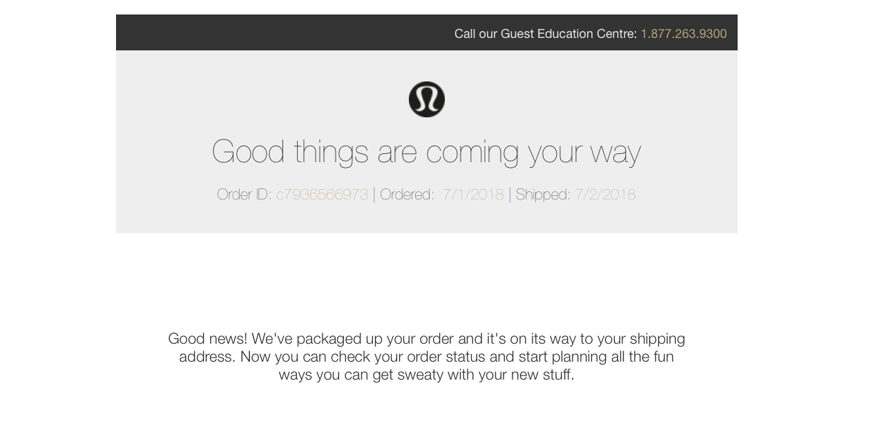 Lululemon-Confirmation-Email