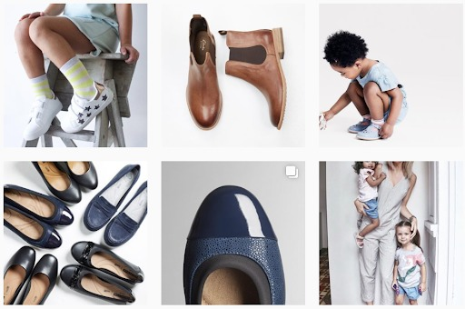 instagram-marketing-clarks-austrialia