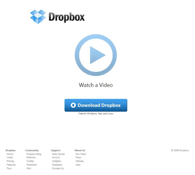 dropbox-landing-page-video