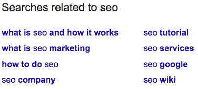 google-searches-related-to