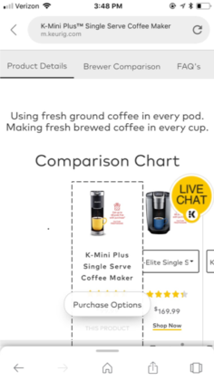 keurig-comparison-chart