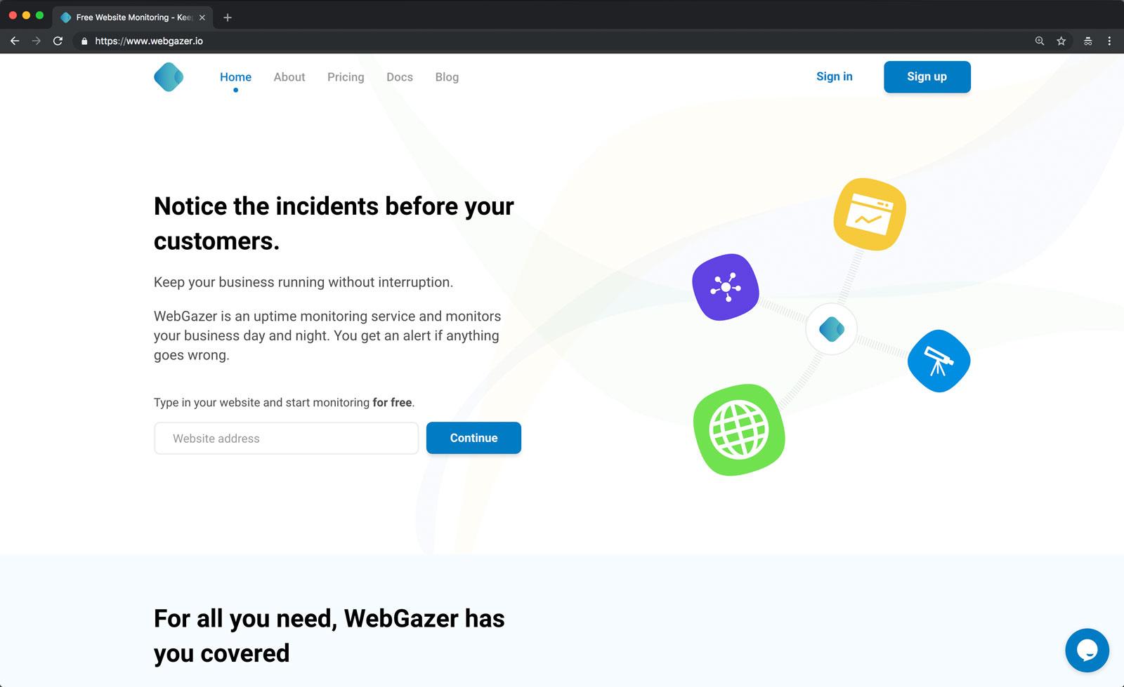web_gazer-homepage