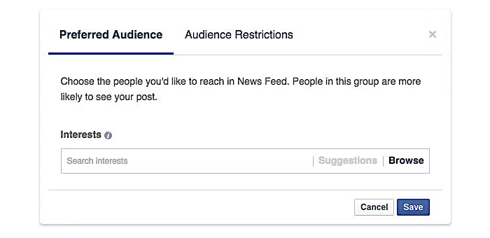 FB-targeting