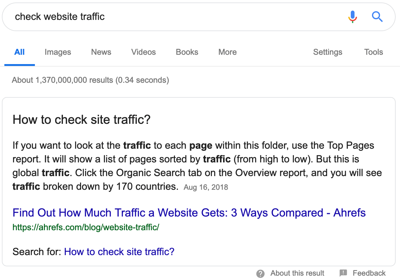 check-website-traffic-featured-snippet-1