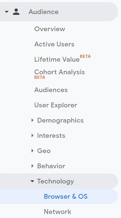 Google-Analytics-browser-report