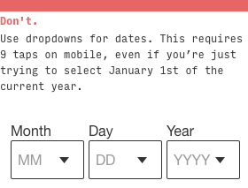dropdown-dates-dont